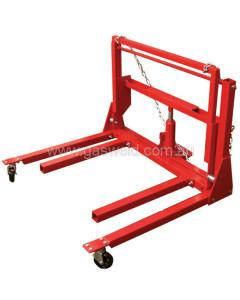 Toolex MT17102 Hydraulic Wheel Dolly 454KG