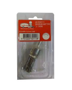 Toolex  Brush End Knot 1-4 Shaft 3-4