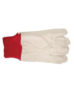 Toolex G-P102L Glove Cotton Drill Red Cuff
