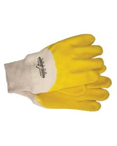 Paramount GG105 Glove Cotton Yellow Rubber Dip