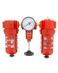Toolex C802 Air Filter Regu-Oiler 3Pc H-D
