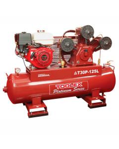 Air Compressor T30P-125L 9 Hp Petrol Honda Engine 125L Tank Fusheng Pump TA-80 145Psi