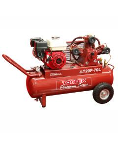Air Compressor T20P-70L 6.5 Hp Petrol Honda 70L Handle Tank TA65 Fusheng Pump 145 Psi