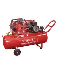 Air Compressor 3.2 Hp T20-70L 240V Electric 70L Tank Fusheng Pump TA65 145 Psi Handle