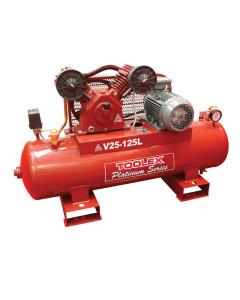 Air Compressor 4.0 Hp V25-125L 415V Electric 125L Tank Fusheng Pump VA80 145 Psi