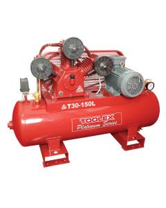 Air Compressor 5.5 Hp T30 150L 415V Electric 150L Tank Fusheng Pump TA80 145 Psi