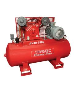 Air Compressor 7.5 Hp V40-250L 415V Electric 250L Tank Fusheng Pump VA100 145 Psi