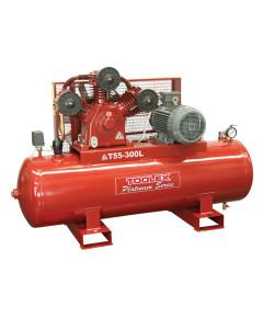 Air Compressor 10 Hp T55-300L 415V Electric 300L Tank Fusheng Pump TA100 145 Psi