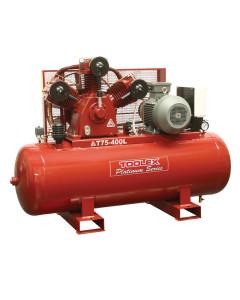 Air Compressor 15 HP T75-400L 415V Electric 400LTank Fushen g Pump TA120  Tank 145psi