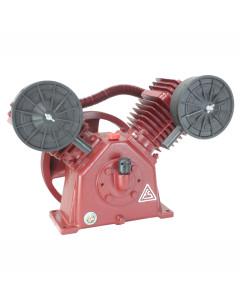 VA-80 Fusheng  Air Compressor Pump V Twin 19.2 Cfm 900Rpm 145 Psi 4.0 Hp Single Stage