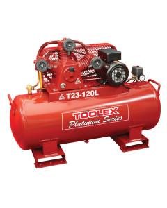 Air Compressor 3.2Hp T23 -120L 240V Electric 120L Foot Mount Tank Fusheng Pump TA65 145Psi