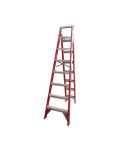 Toolex FA63-207RED150KG Ladder Dual Purpose 2.4m 4.5m