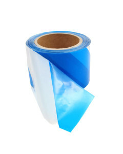 Toolex CL-2BLUEWHITE Safety Tape Blue White 75mm