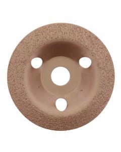 Toolex 125MMBENTEDGECARB Grinding plate Dish125mm