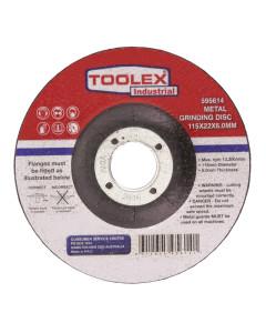 Toolex GRIDISC115226.0 Grinding Disc 115 x 6 x 22mm