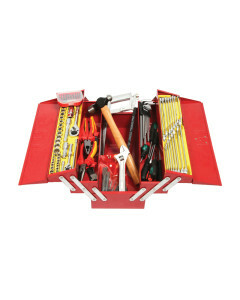 Tool Kit 117Pc 5 Tray  With Red 5 Draw Cantilever  Box