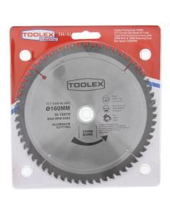 Toolex  Circular Saw Blade 160mm 60TH