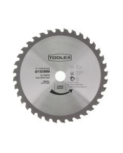 Toolex TXP18536METAL Circular Saw Blade 185mm 36T