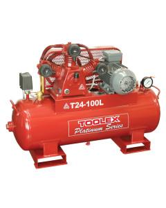 Air Compressor 3 Hp T24-100L 415V Electric 100L Tank Fusheng Pump TA65 145 Psi