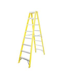 Toolex FA31-207CYEL120KG Ladder Step Double 2.4m 120kg