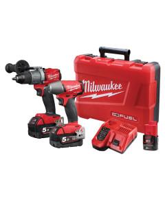 Milwaukee M18FPP2C2-502C M18 FUEL 2C2 Power Pack