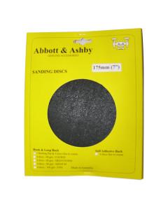 Abbott & Ashby 500180 Sanding Discs 175mm 5 Pack