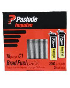 Paslode B20810 Brads 25mm 18 gauge, C1 series
