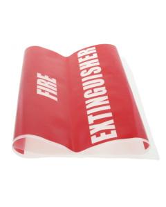 Fire Box BAGP Plastic Fire Extinguisher Bags