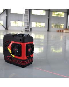Toolex BRODY-X4P Laser Level Red Beam 4 Point