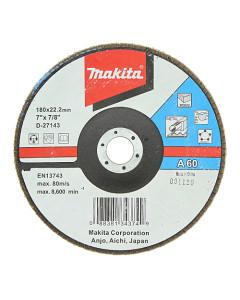 Makita D-27143 Flap Disc 180mm 60 Grit