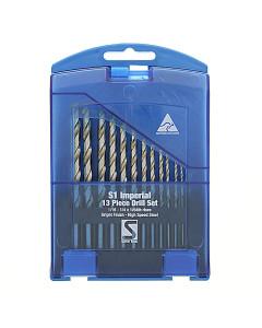 Sutton D101S1 Drill Bit Set 13 Piece Jobber