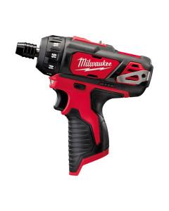 Milwaukee M12BD-0 12V Screwdriver Skin 1-4 Hex