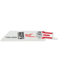 Milwaukee 48005186 Thin Kerf Metal Sawzall Blade
