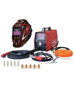Plasma Cutting Kit 40AMP With Helmet Electrodes and Cutting Tips