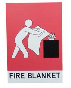 Fire Box SLFB Small Fire Blanket Location Si