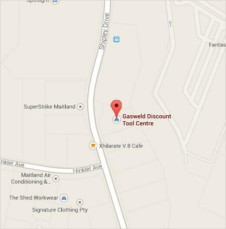 Gasweld Rutherfod Store Location Map