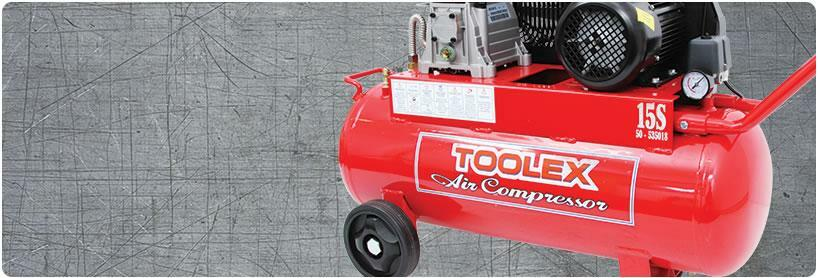 Toolex 15S Australian made air compressor