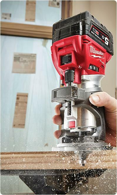 New Milwaukee M18FTR-0 cordless trimmer