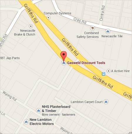 Gasweld Lambton Store Location Map